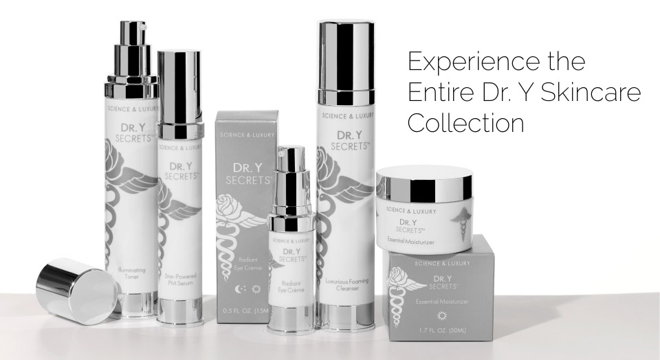 Experience the Entire Dr. Y Skincare Collection
